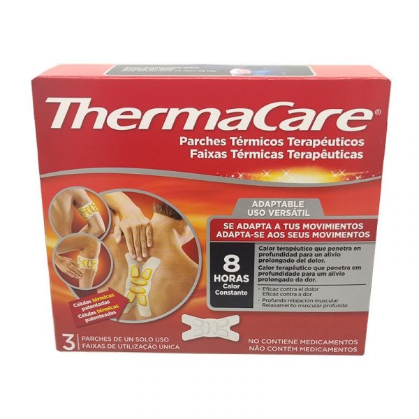Thermacare adaptable parches termicos 3 parches   Farmacia del Paseo 24H